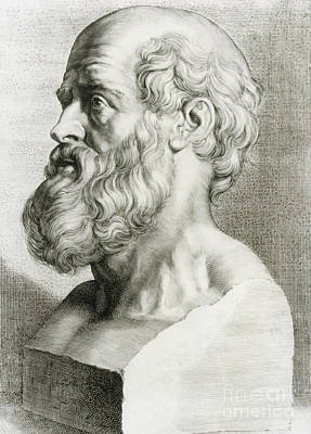 Photograph - Hippocrates, Greek Physician by Science Source