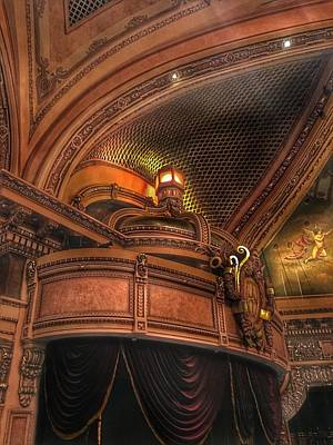 Photograph - Hippodrome Theatre Balcony - Baltimore by Marianna Mills
