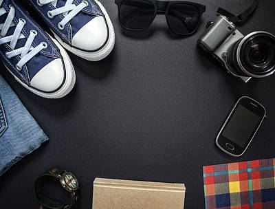 Hipsters Outfit Art Print