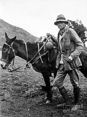 Photograph - Hiram Bingham (1875-1956) by Granger