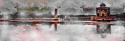 Painting - Hiran Minar In Pakistan by Gull G