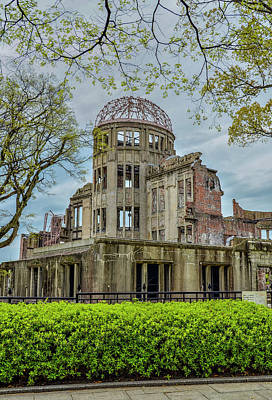 Photograph - Hiroshima Peace Memorial Atomic Bomb Dome by Alan Toepfer