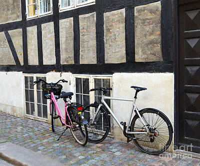 Firefighter Patents - His and Hers Bicycles in Copenhagen  by Catherine Sherman