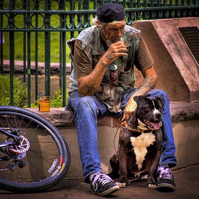Photograph - His Best Friend by David Patterson