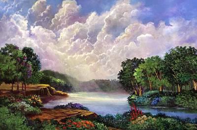 His Divine Creation Original by Randy Burns
