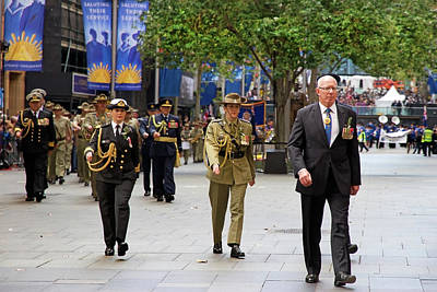 Photograph - His Excellency General The Honourable David Hurley by Miroslava Jurcik