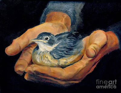 His Eye Is On The Sparrow Original by Karen Winters
