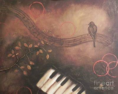 Painting - His Eye Is On The Sparrow by Patti Spires Hamilton
