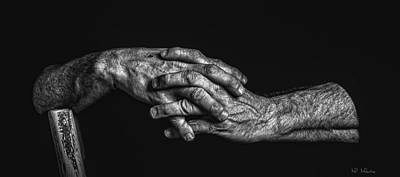 Photograph - His Hands 2 by Melinda Martin