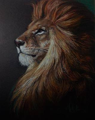 Lion Of Judah Painting - His Majesty by Marguerite Anderson