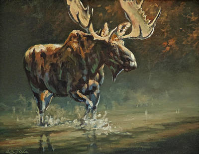 Art Of Mia Delode Painting - His Majesty by Mia DeLode