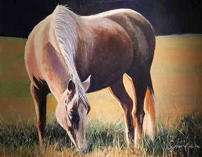 Painting - His Morning Snack by Jessica Anne Thomas