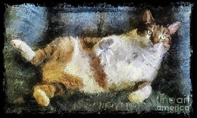 Painting - His Royal Laziness by Betsy Foster Breen