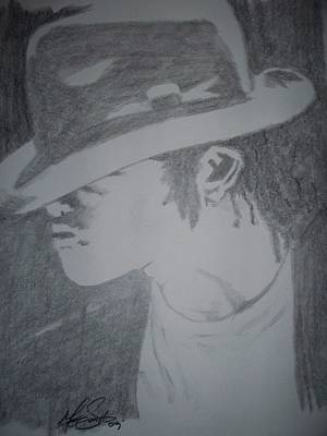 His Signature Art Print