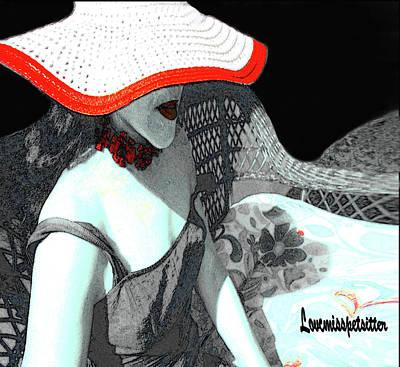 Digital Art - Abstract Woman Art 2 by Miss Pet Sitter