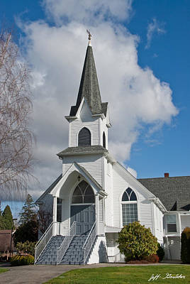 Photograph - Historic 1904 Lutheran Church by Jeff Goulden