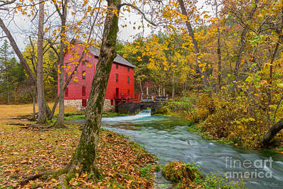 Photograph - Historic Alley Mill by Jennifer White