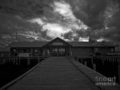 Historic Anna Maria City Pier 9197439 Art Print
