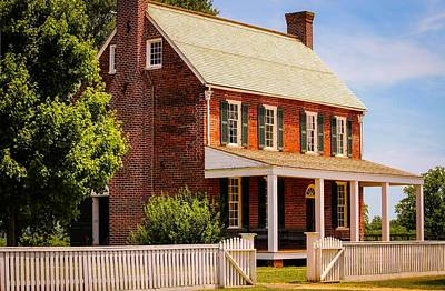 Historic Appomattox Courthouse Art Print