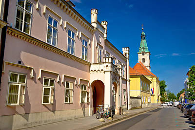 Photograph - Historic Architecture Of Town Bjelovar by Brch Photography