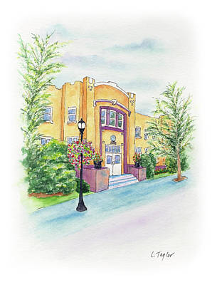 Painting - Historic Armory by Lori Taylor
