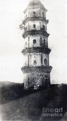 19th Century Photograph - Historic Asian Tower Building by Jorgo Photography - Wall Art Gallery