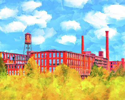 Mixed Media - Historic Atlanta - Fulton Cotton Mill by Mark E Tisdale