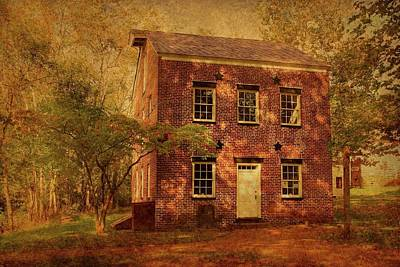 Photograph - Historic Bakery - Allaire State Park by Angie Tirado