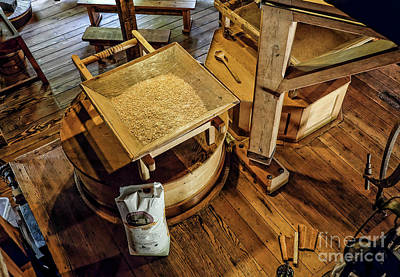 Digital Art - Historic Bale Mill by Jason Abando