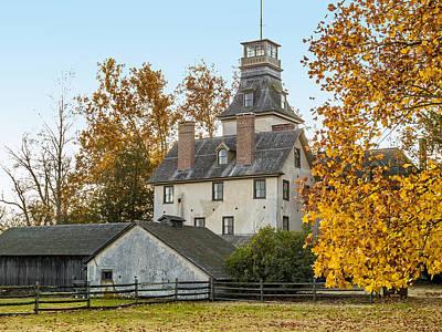 Photograph - Historic Batsto Mansion by Andrew Kazmierski