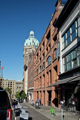 Photograph - Historic Beatty Street In Vancouver by Maria Janicki