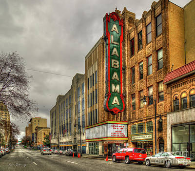 Photograph - Historic Beauty Alabama Theatre Birmingham Alabama Art by Reid Callaway