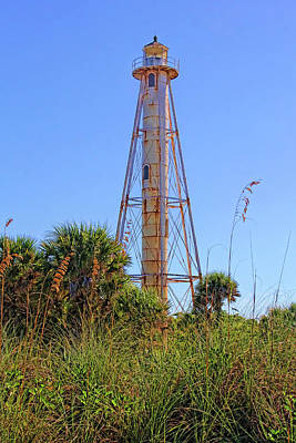 Photograph - Historic Boca Light  by HH Photography of Florida