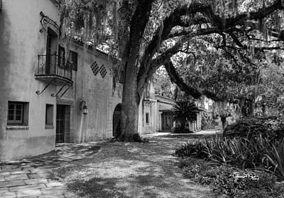 Photograph - Historic Bok Gardens Home by Susan Molnar