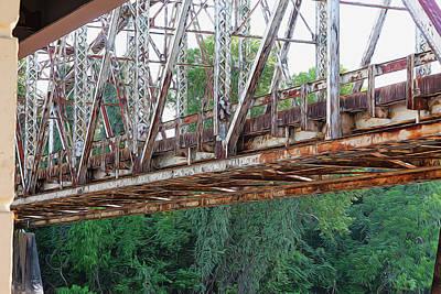Photograph - Historic Brazoria Bridge by Judy Wright Lott