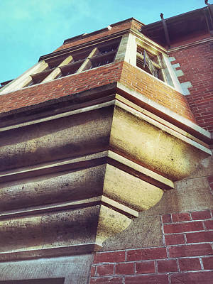Downloads Photograph - Historic Building Detail by Tom Gowanlock