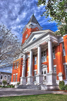 Photograph - Historic Bulloch County Courthouse by Reid Callaway