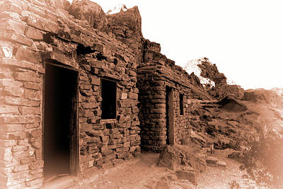 Photograph - Historic Cabins At Valley Of Fire by Kristia Adams