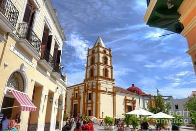 Historic Camaguey Cuba Prints 3 Art Print