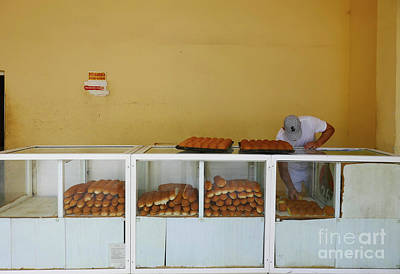 Becky Photograph - Historic Camaguey Cuba Prints The Bakery by Wayne Moran