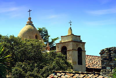 Photograph - Historic Carmel Mission by Joyce Dickens