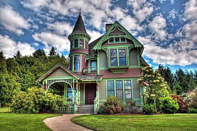 Historic Castle In Drain Oregon Art Print by Tyra  OBryant