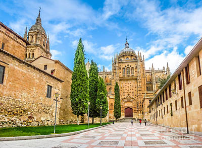 Photograph - Historic Cathedral Of Salamanca, Castilla Y Leon, Spain by JR Photography