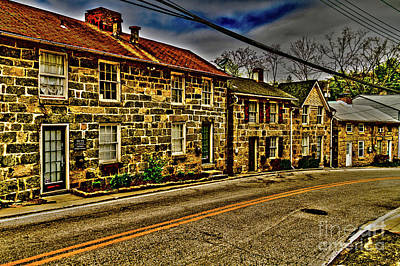 Photograph - Historic Center by William Norton