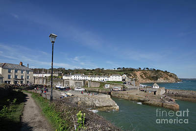 Photograph - Historic Charlestown Cornwall by Terri Waters