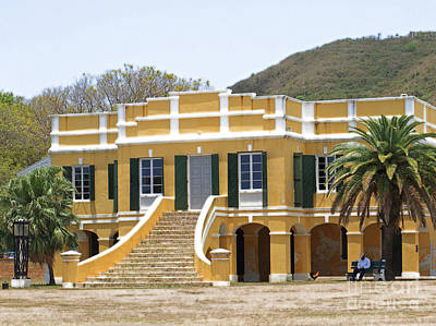 Photograph - Historic Christiansted Building by Mary Haber