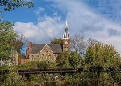 Photograph - Historic Church by John M Bailey