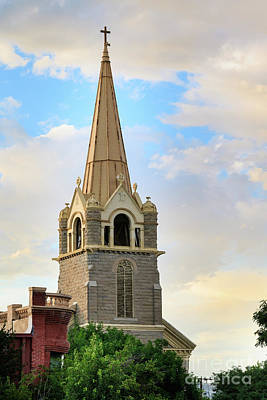 Photograph - Historic Church by Richard Smith