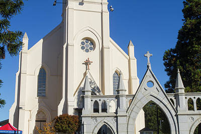 Photograph - Historic Church Santa Cruz by Mark Miller