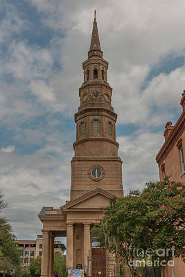 Photograph - Historic Church Tower by Dale Powell